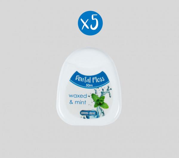 Zahnseide - 5er Pack