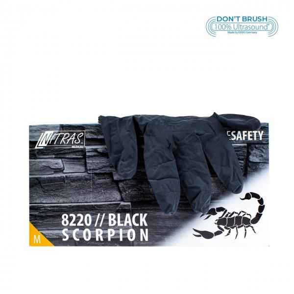 Latexhandschuhe Black Scorpion Schwarz M