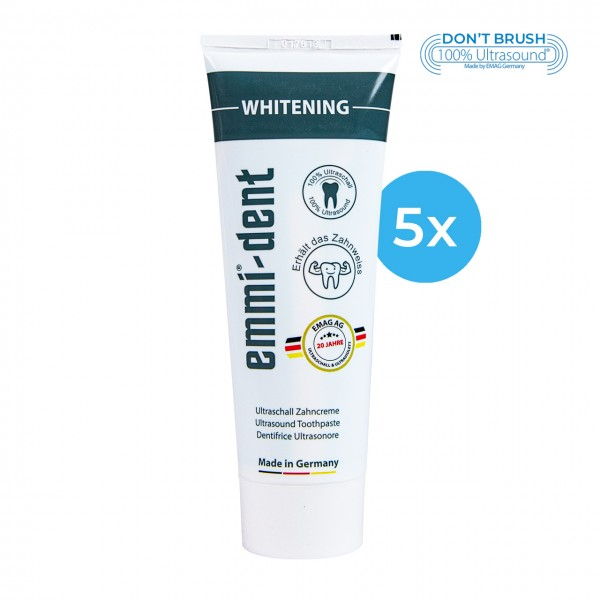 "Ultraschall Zahncreme - ""whitening"" 5"