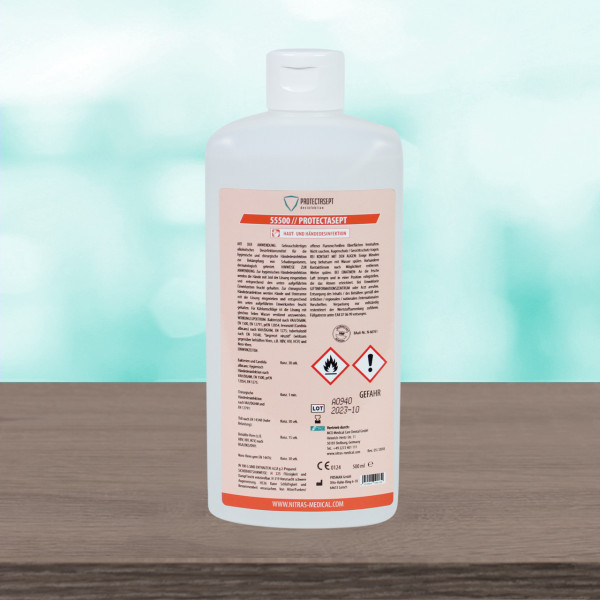 Nitras Medical Händedesinfektion - 500ml