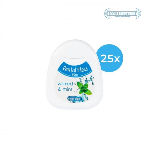 Zahnseide - 25er Pack