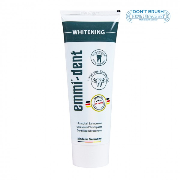 "Ultraschall Zahncreme - ""whitening"""