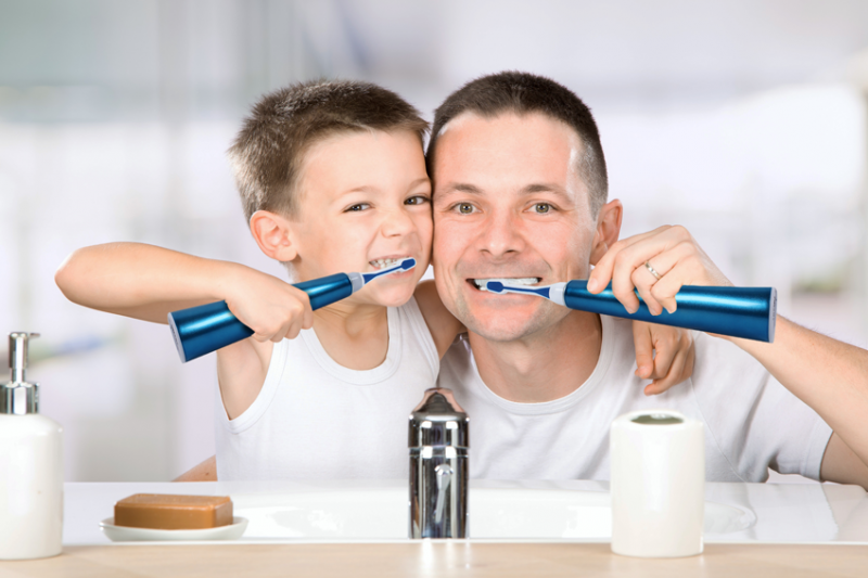 Zähne putzen für jedes Alter
