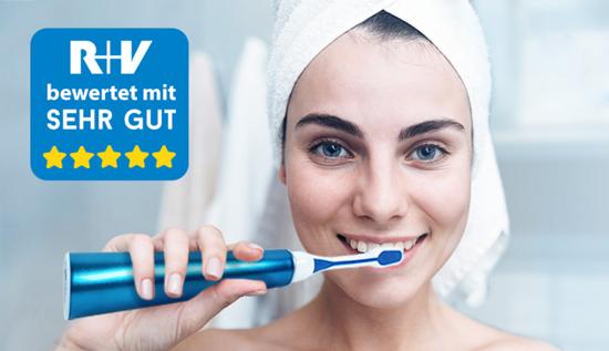 Richtig Zähneputzen mit der emmi-dent Ultraschallzahnbürste