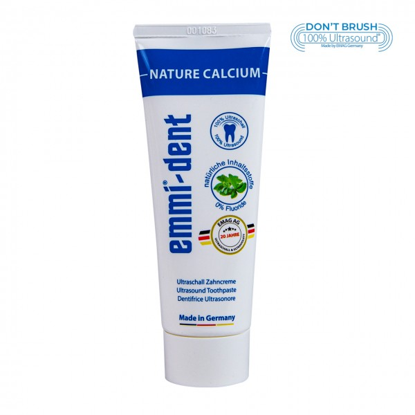 "Ultraschall Zahncreme - ""nature calcium"""