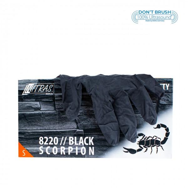 Latexhandschuhe Black Scorpion Schwarz S