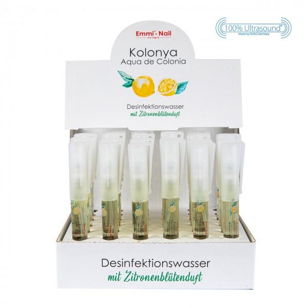 Desinfektionswasser Kolonya + Aufsteller