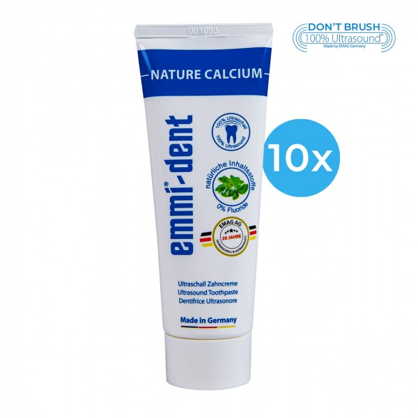 "Ultraschall Zahncreme - ""nature calcium"" 10"