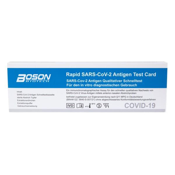 Corona Antigen - Schnelltest, Selbsttest