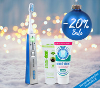 Ultraschallzahnbürste - Platinum Basis Set Natur - Blau