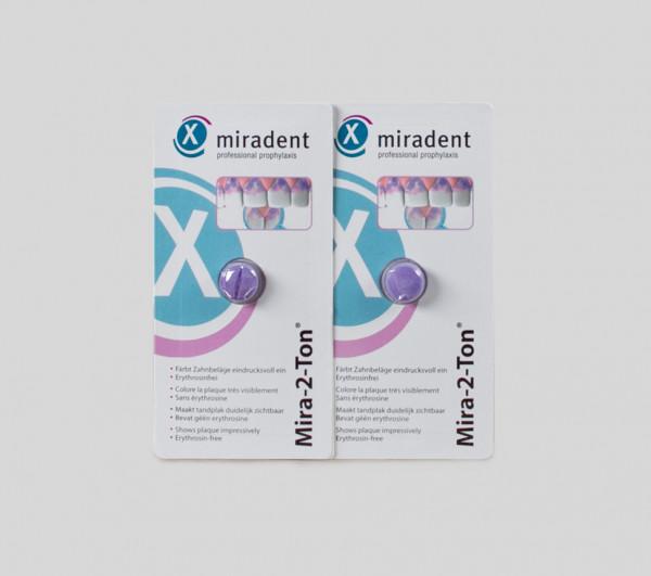 Mira-2-Ton - Zahnfärbetablette