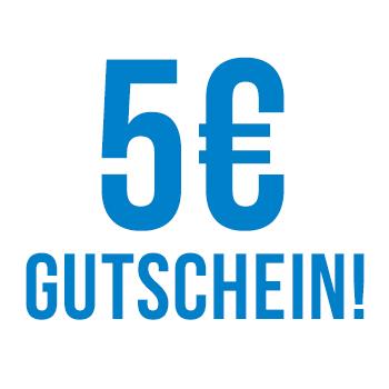 5€ Gutschein sichern